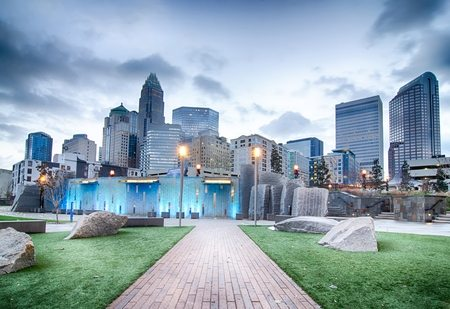 Charlotte NC Real Estate Market - Photo taken from Romare Bearden Park